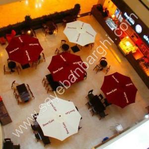 سایبان چتری در رستوران 02