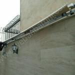 سایبان برقی پارکینگ عرض ۵ متر-02
