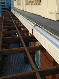 پروژه سایبان برقی بالکن منزل مسکونی ولنجک-04