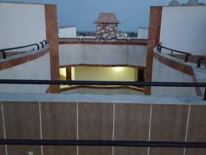 پروژه سایبان برقی محیط آبریز وسط ساختمان (2)