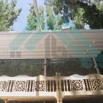 پروژه اجرا شده ی سقف متحرک برقی