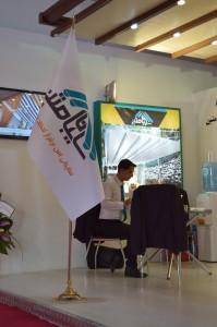 غرفه شرکت سایبان متین نمایشگاه ساختمان 96